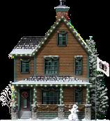 Snowy Family Home