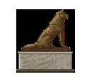 Akita Statue