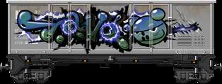 Graffiti Boxcar