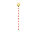 Ornamented Candy Pole