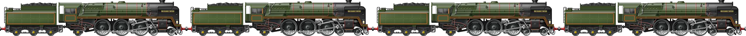 BR Class 7 Quad