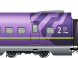Shinkansen 800 EVA