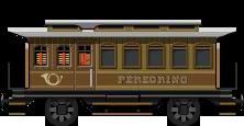 Brown Wagon