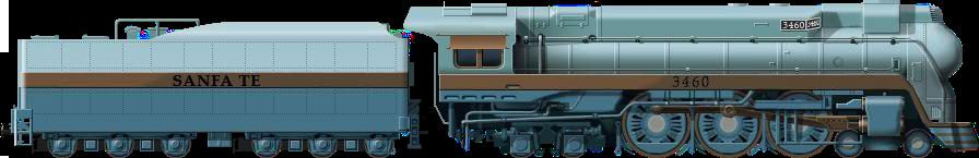 ATSF Blue Goose