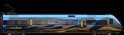 Blue Flame Liner