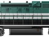 EMD GP38-2 Triple
