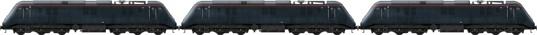 BR Class 89 Triple
