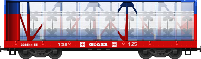 Glass I-Beam