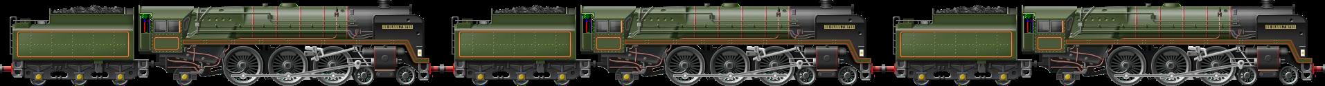 BR Class 7 Triple