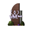 Company logo sign