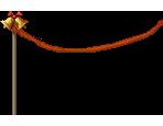 Garland Pole (Red)