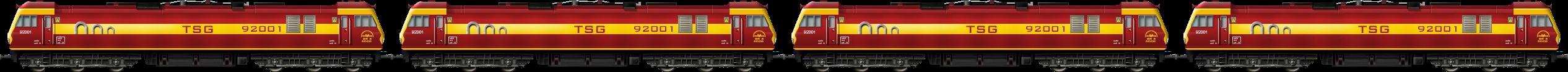 BR Class 92 Quad