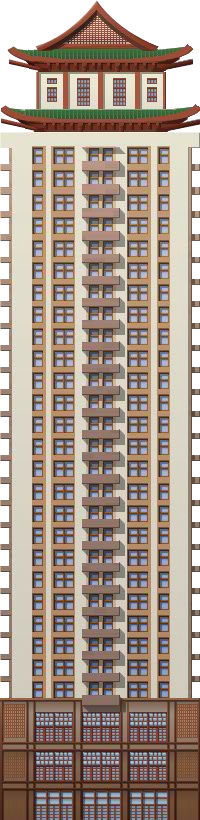 Chinese Tower Block