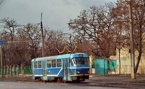 Спуск Маринеско lijn12 T3SU.jpg