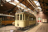 TramInRemiseNederlandsOpenluchtmuseum