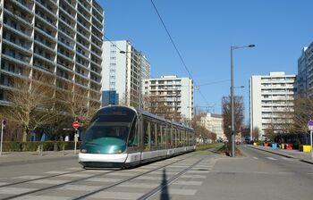 Esplanade lijnC Eurotram.JPG