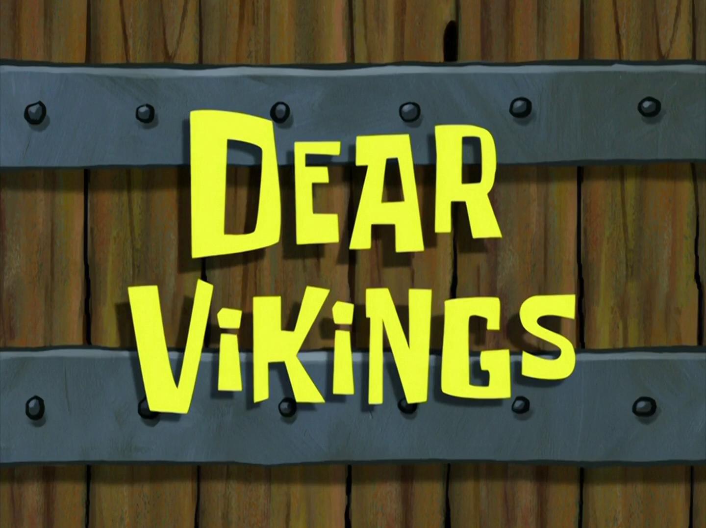 Dear Vikings