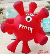 COVID-19 mascot