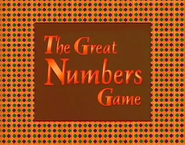 The Great Number Game