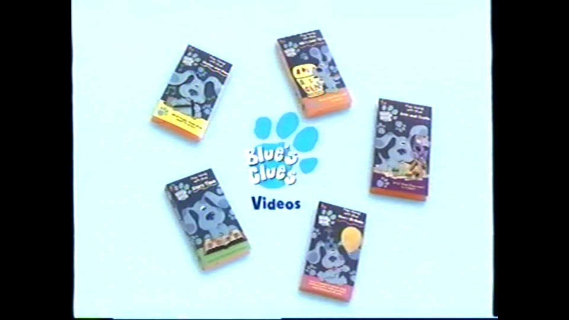 Blue's Clues Videos Trailer