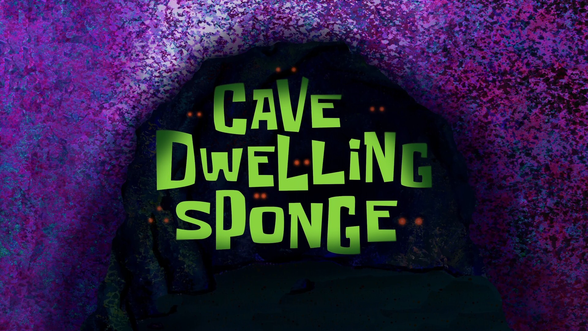 Cave Dwelling Sponge