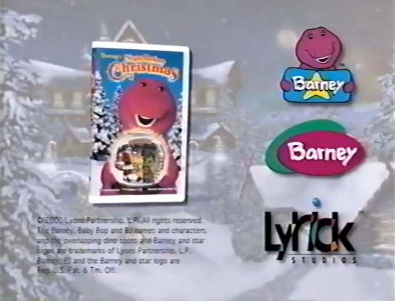Barney's Night Before Christmas Trailer