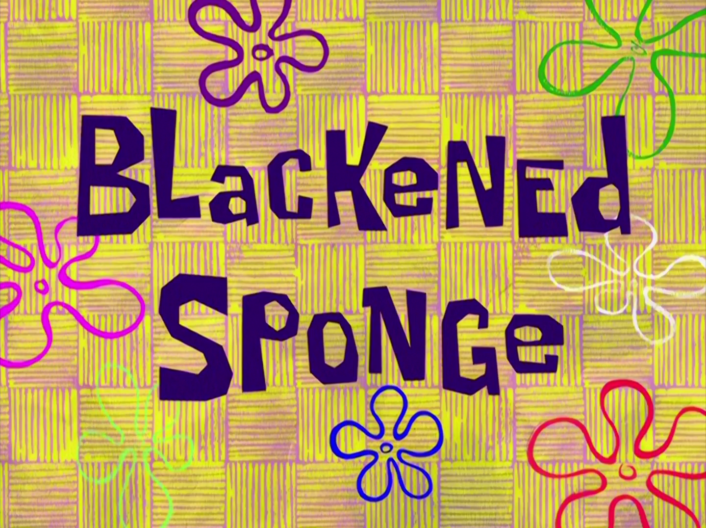 Blackened Sponge