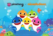 Pinkfong Nickelodeon Partnership
