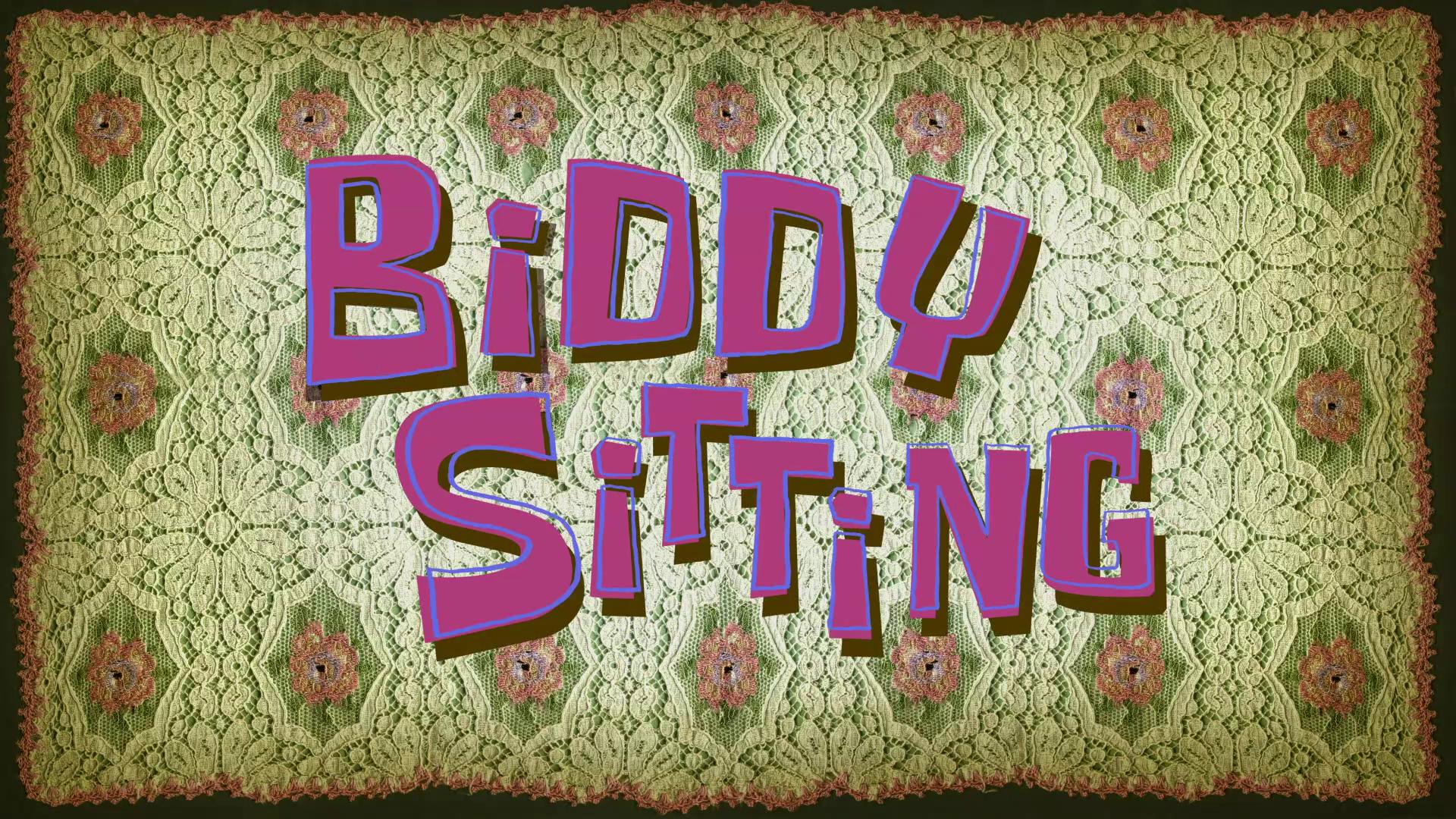 Biddy Sitting