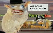 Quiznos - Spongmonkies