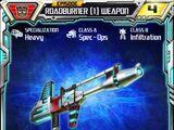 Roadburner (1) Weapon