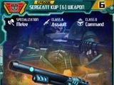 Sergeant Kup (6) Weapon