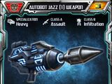 Autobot Jazz (1) Weapon