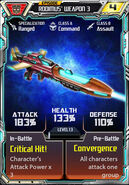 Rodimus 3 Weapon