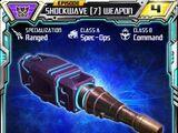 Shockwave (7) Weapon