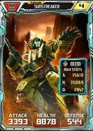 Sunstreaker 1 Robot - Base and Max Trans-Scan Stats