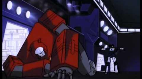 G1 Blaster vs Soundwave War for Dancitron