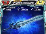 Nova Prime (1) Weapon