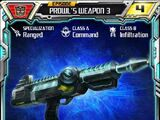 Prowl (3) Weapon