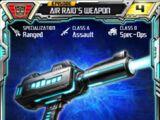 Air Raid (1) Weapon