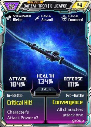 Banzai-Tron 1 Weapon.jpg