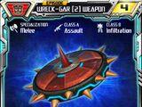 Wreck-Gar (2) Weapon