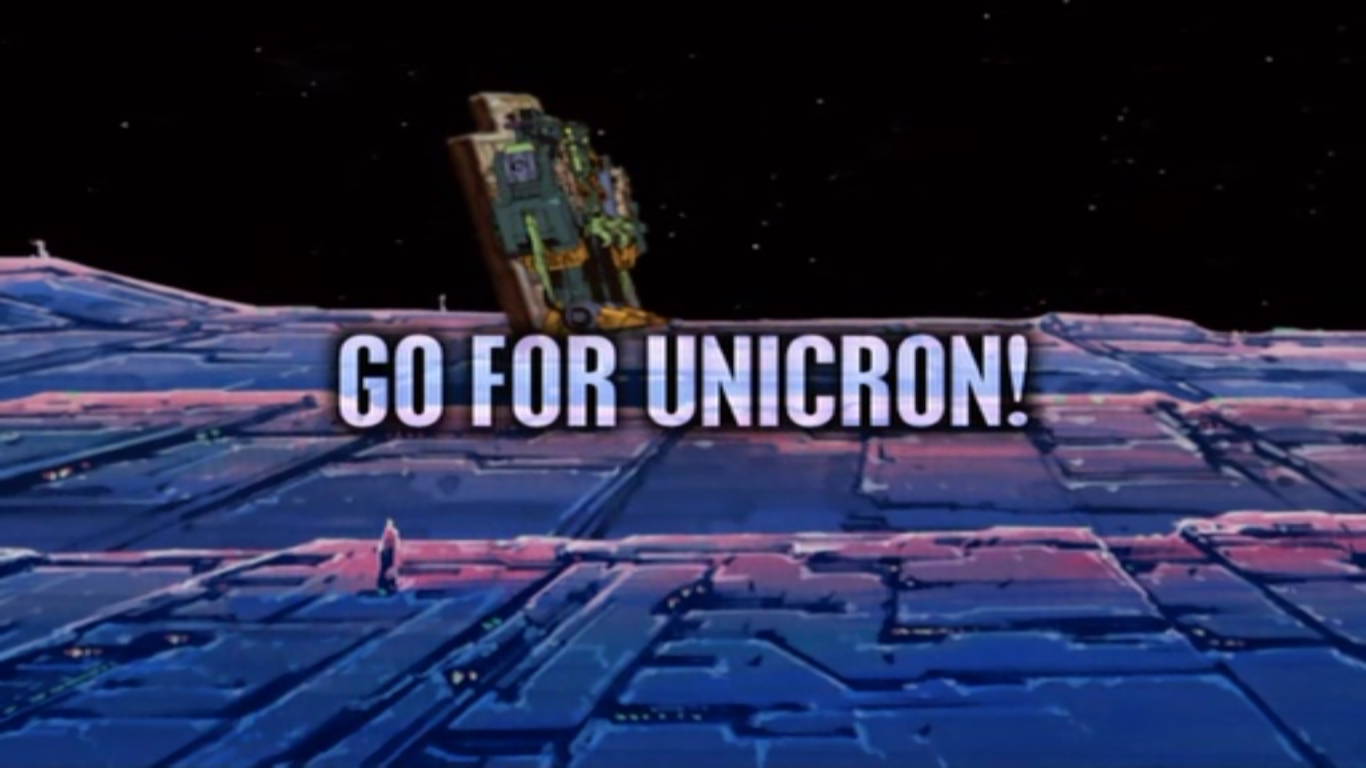 Go for Unicron!