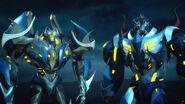 Skylynx and Darksteel (Night Time)