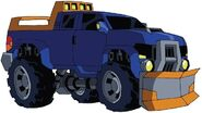 Animated Sentinel Prime truck