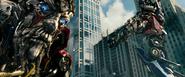 Optimus Prime vermoord Sentinel Prime