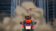 Laserbeak chase Optimus