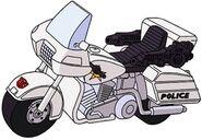 G1 Groove police motorbike