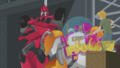 Sideswipe, Cody and Blades
