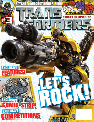 Transformers Comic issue 3
